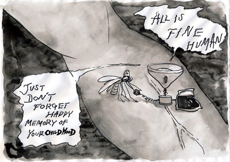 蚊の有料カウンセラー / The paid mosquito counselor