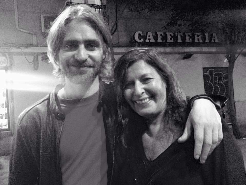 Con Juan Pietranera