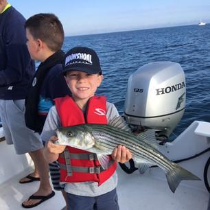Kids love fishing too!