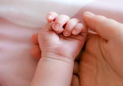 Sibling hands