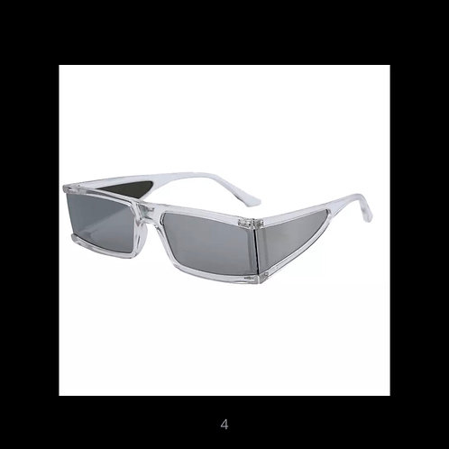 Fashion Rectangle Small Sunglasses