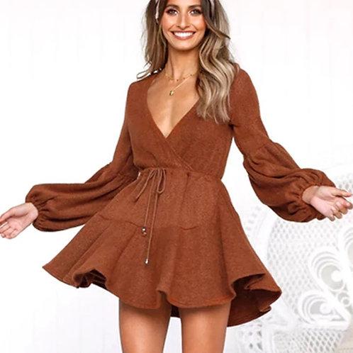 Autumn fashion dress