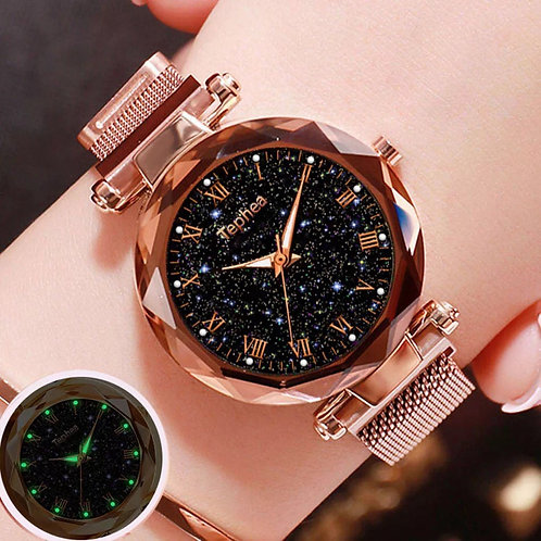 Women's watch starry sky