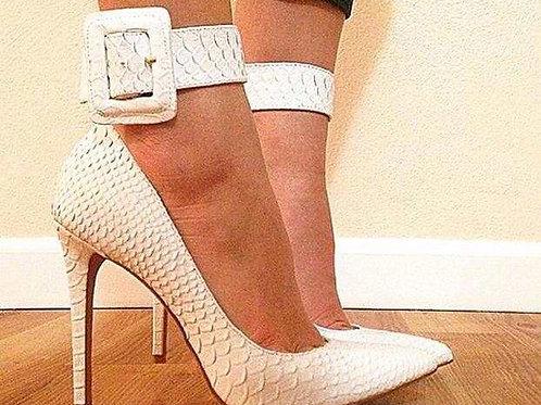 Ankal buckel high heels