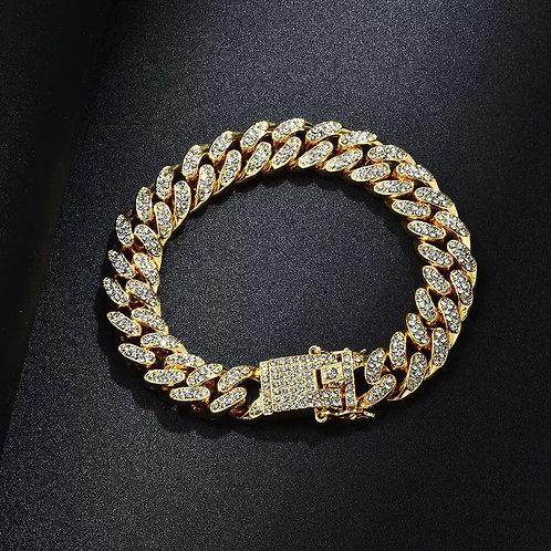 Iced out bracelets