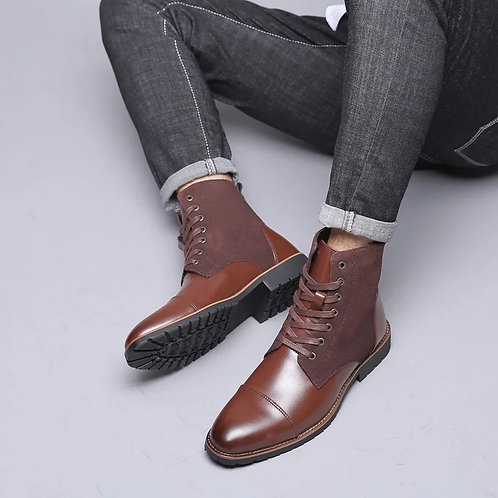 Men's plushed shoes