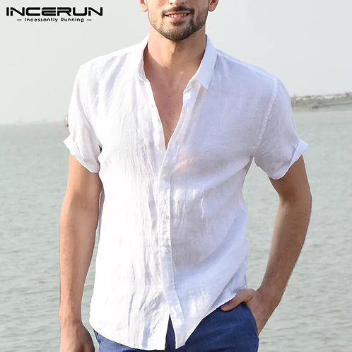 Casual Shirts Men Social Shirts