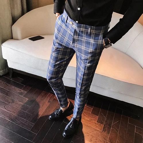 Men's plague dress pants