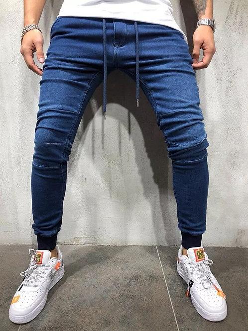 Men's trousers 2019 new men's casual jeans