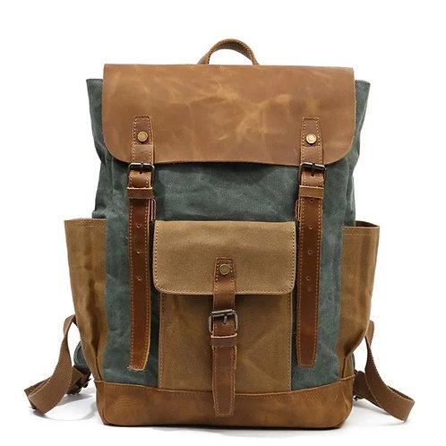 Men's vintage backpack