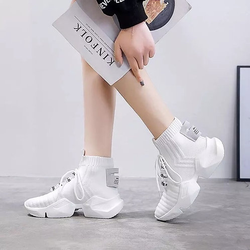 Women's new sock shoes