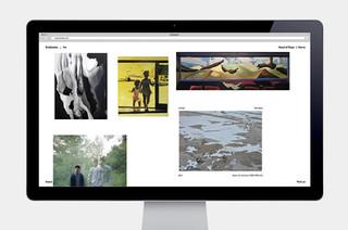 Site pour une galerie d'art
