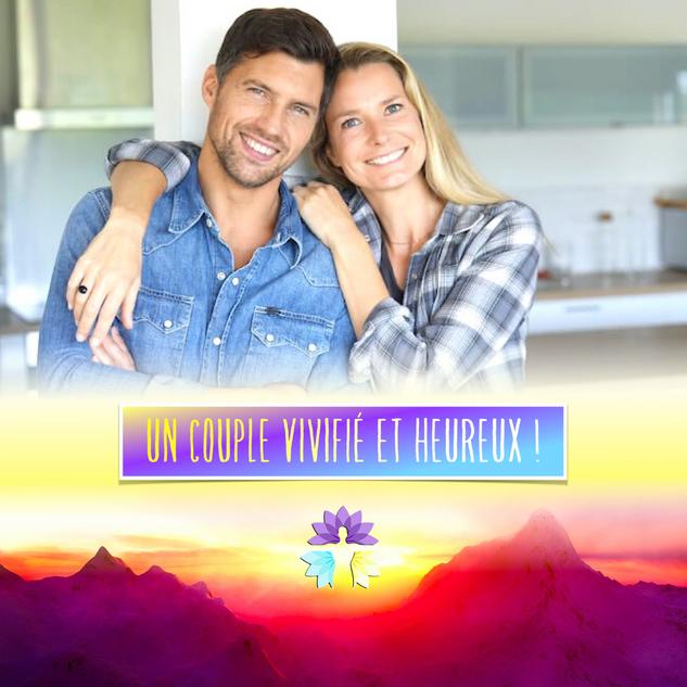 Un couple vivifié et heureux !