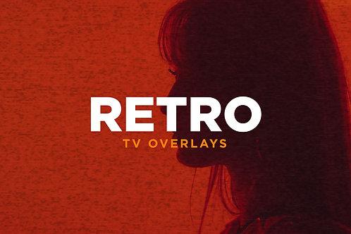 Retro TV Overlays