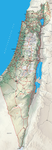 Israel Map 2