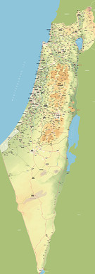 Israel Map 4