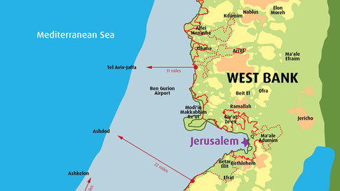 West Bank with Separation Barrier