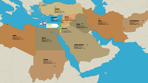 Israel in the Middle East 2