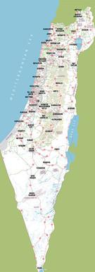 Israel Map 5