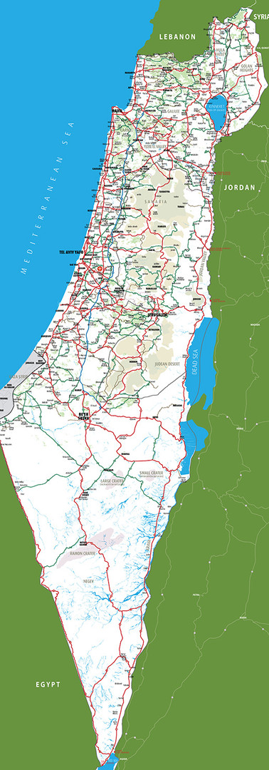 Israel Map 1