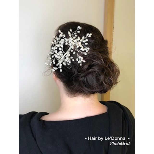 #bridalseason #hairbyledonna #shopotbd #