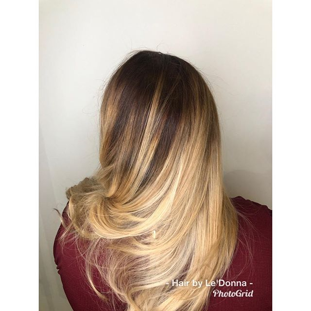 Balayage ombré #hairbyledonna #shopotbd