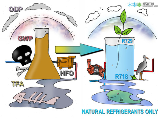 Natural refrigerants only - our petition is online - Please support