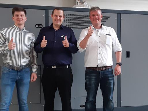 Factory visit Mirai Intex for ult storage project