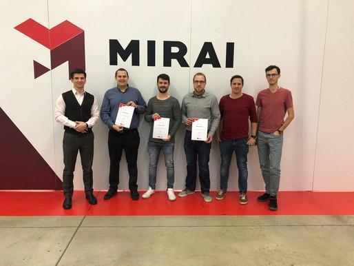 Zertifizierung Kaltluftkältetechnik bei Mirai Intex
