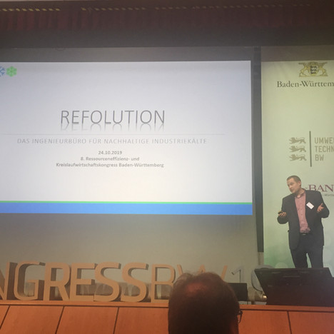 Fachvortrag beim Ressourceneffizienz-Kongress Baden-Württemberg