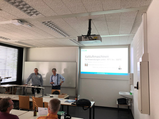 25.06.2019 DKV Rhein-Neckar Fachvortrag: Kaltluftmaschinen für Anwendungen unter -40°C bis -160°C