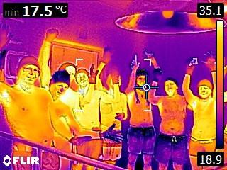 Exkursion mit den Studenten der HS Karlsruhe Zur Kaltluftkältesaune -115°C bei COOLINN
