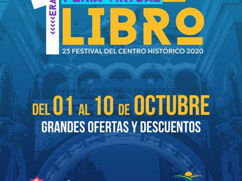 Librerías Participantes en la Primera Feria virtual