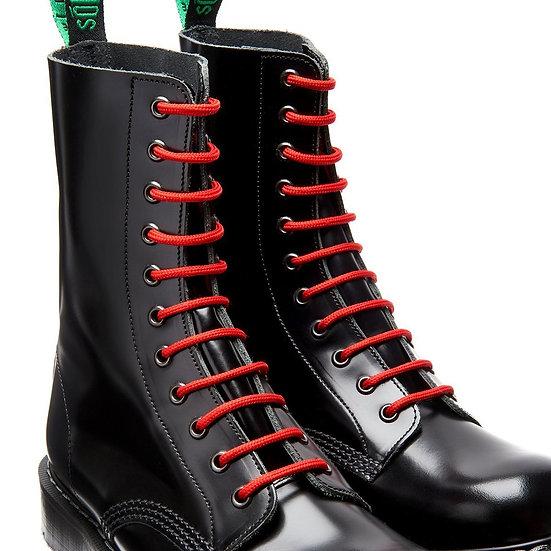 Solovair шнурки красные 180 см.