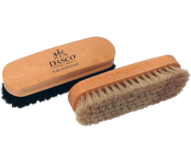 DASCO - Щетка для обуви HORSEHAIR, бук, светлый волос, 180*50*25