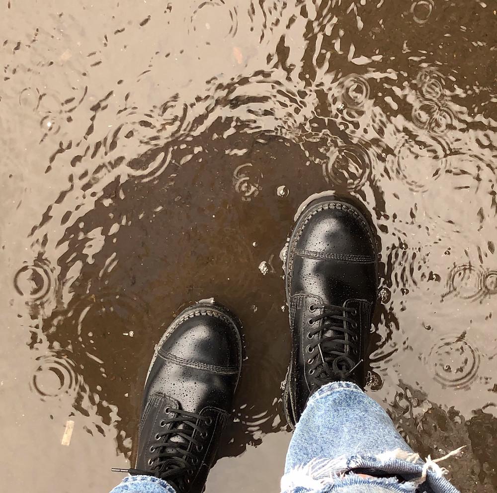 ботинки Grinders Bulldog устойчивы к воде