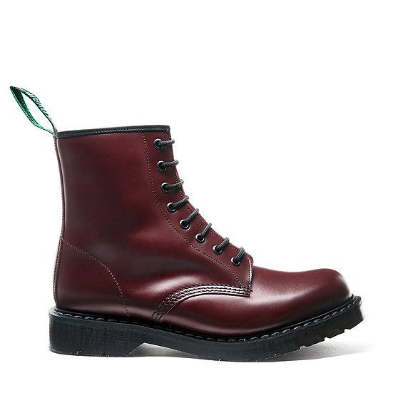 Solovair 8eye Derby boot Oxblood