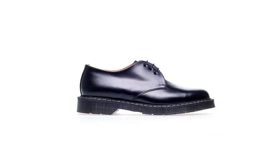 Black Hi-shine Gibson shoe