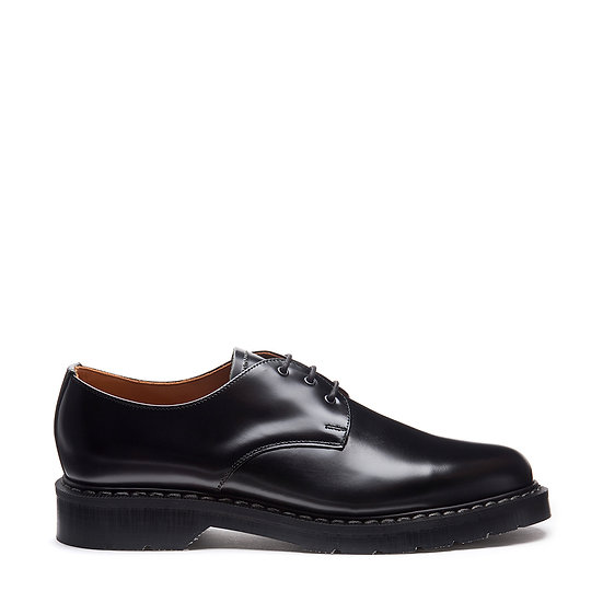 Solovair Black Hi-shine    Gibson shoe