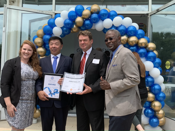 QCAACC, Chamber Partners Welcome New Company To Aurora, IL