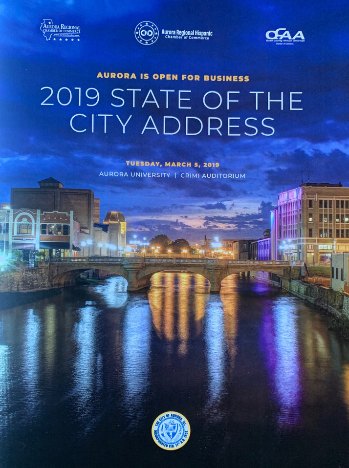 2019 State of The City Event Drew Overflow Crowd; Something Is Definitely Happening In Aurora, IL