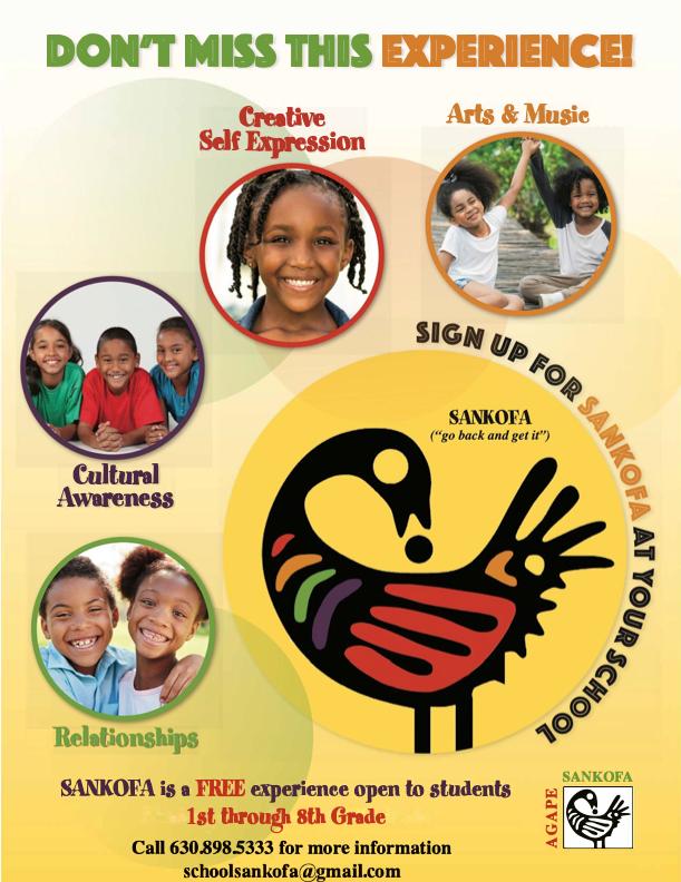 Sankofa School Open To All Student; Register Today