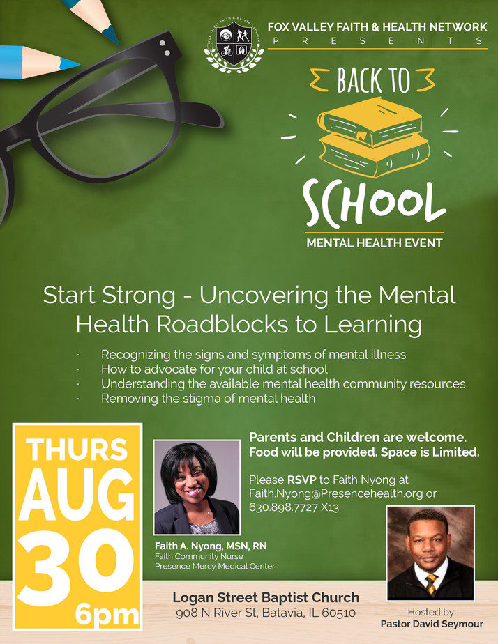 Uncovering Mental Health Roadblocks Discussed At This Event August 30th ...