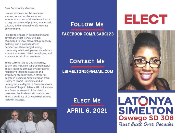 Show Your Support For Latonya Simelton...