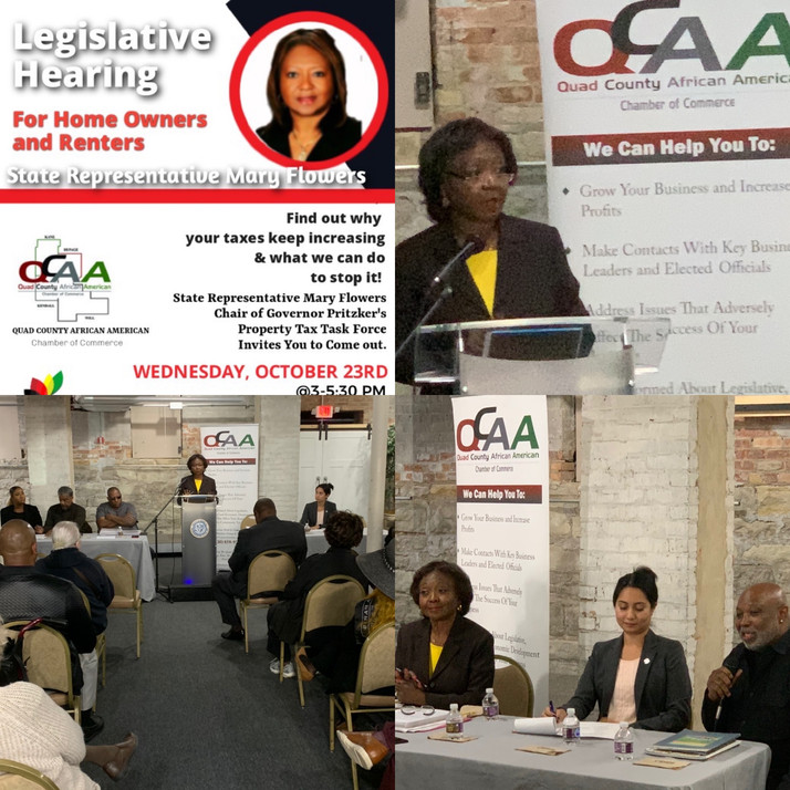 Legislative Hearing Hosted By QCAACC, South Suburban Regional Black Chamber