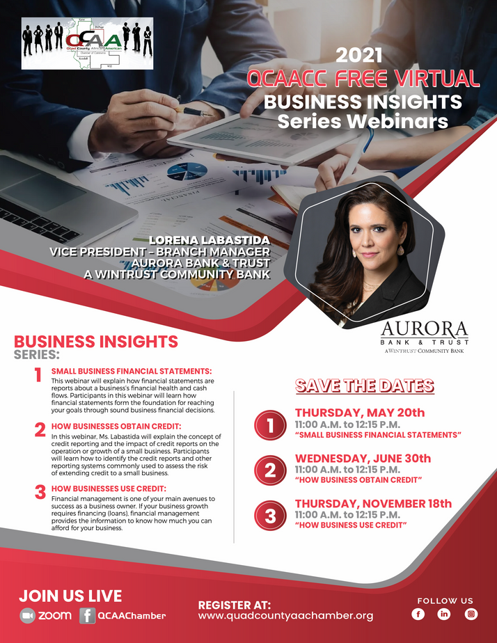QCAACC Launches 'Business Insights Series Webinars