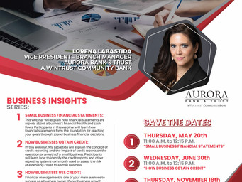 Business Insights Series Webinars Provide Wealth of Information for Your Business