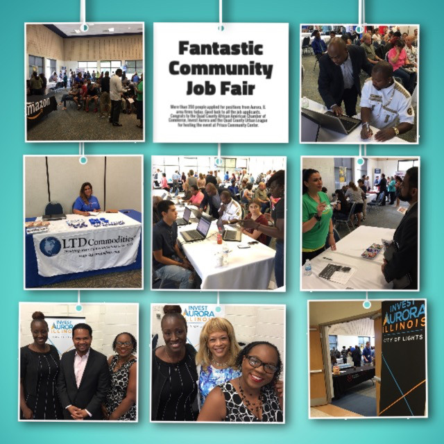 Area Organizations Conduct An Outstanding, Successful Career Job Fair In Aurora, IL Recently