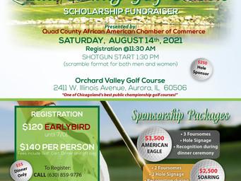 Golf Registration Is Filling Up; Get Your Golf, Dinner Spot Now...Sign Up Today!