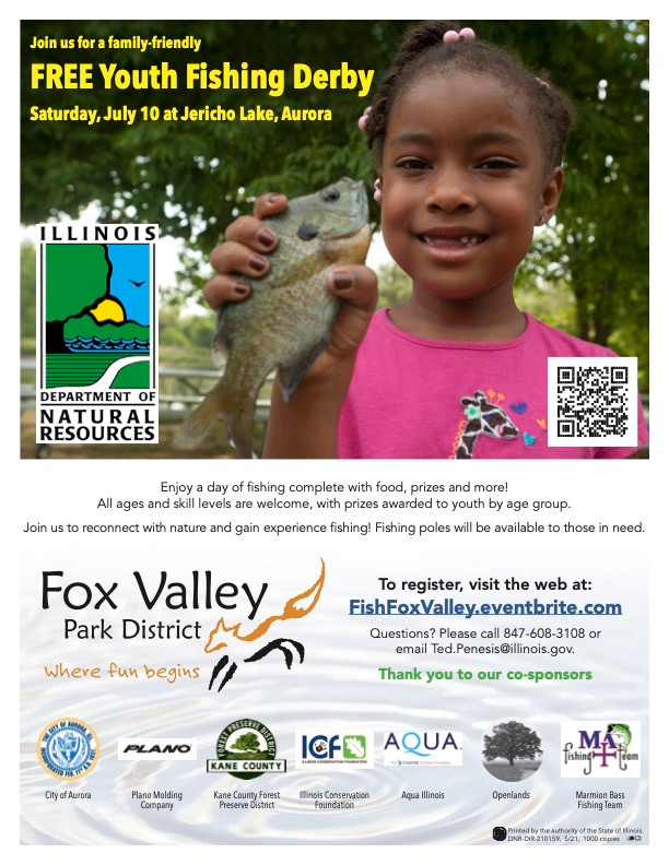 Free Youth Fishing Derby July 10th At Jericho Lake In Aurora...